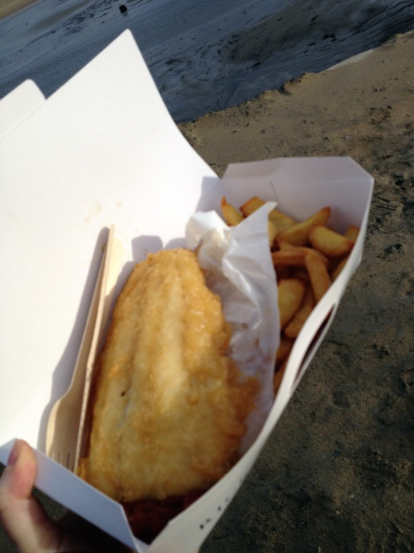 Gluten free fish chips at rick stein 39 s padstow for Gluten free fish breading