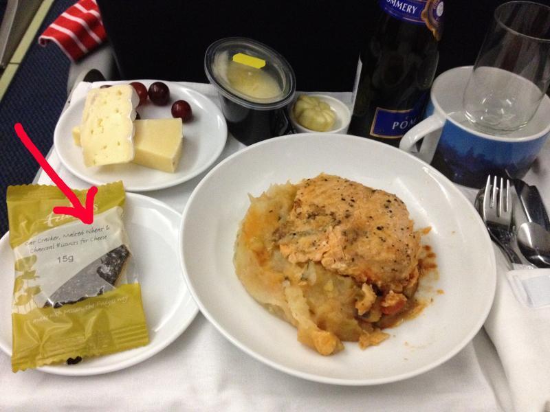 adventures of a gluten free globetrekker Wheat crackers in gluten free meal
