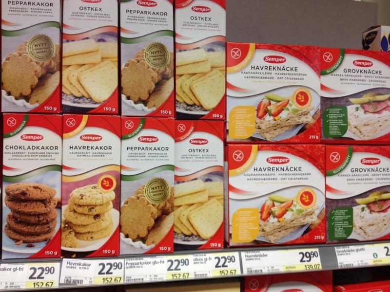1875081E CAB2 4DD9 9F7B B9A95004E2E66 Stockholm: Gluten Free Supermarket Shopping