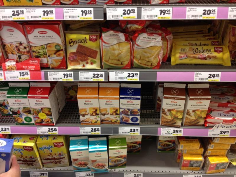 1F768BFA BEBA 4337 B43B 2D82AEAE405314 Stockholm: Gluten Free Supermarket Shopping