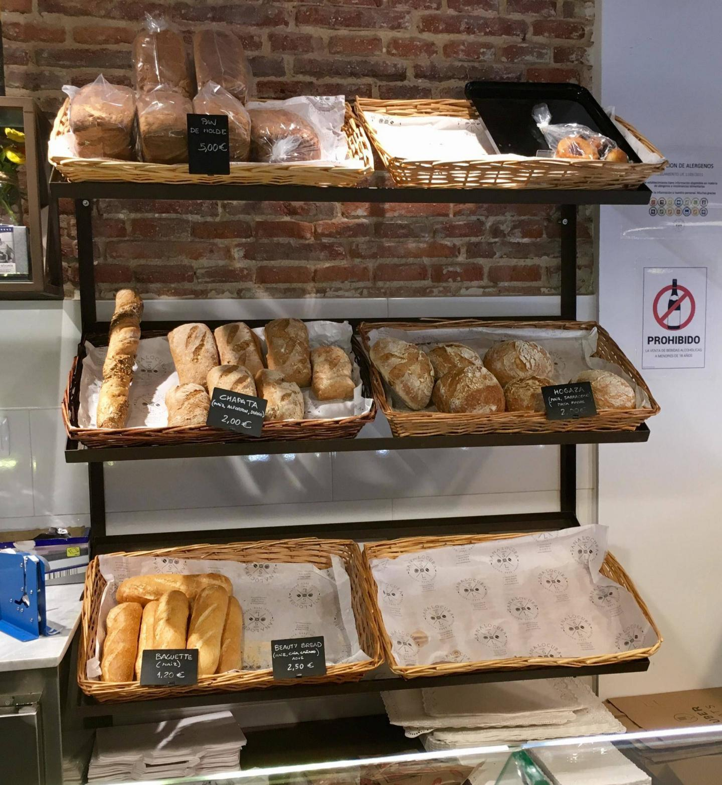 adventures of a gluten free globetrekker Gluten Free Madrid: Sana Locura Bakery & Other Gluten Free Tips Madrid Spain