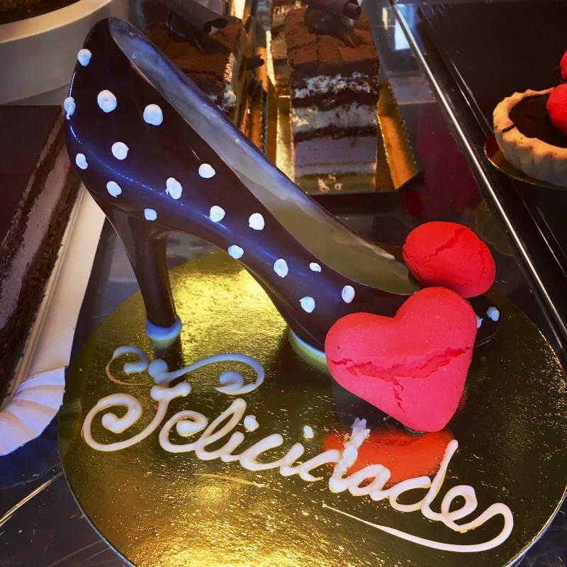 adventures of a gluten free globetrekker Gluten free shoe cake