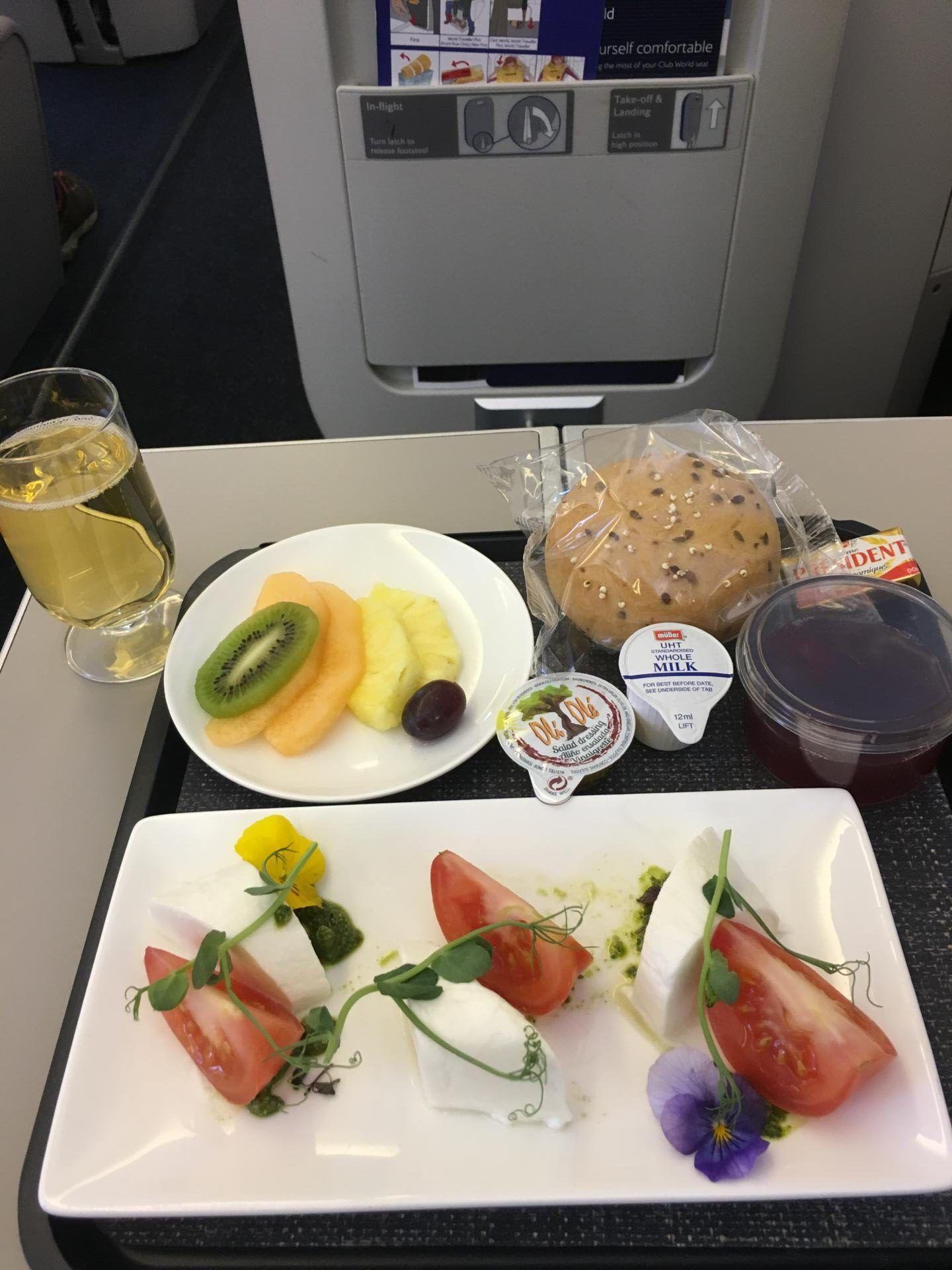 gluten free meal british airways club europe