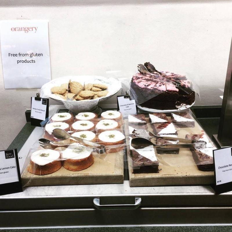 Gluten free cake Kew Gardens