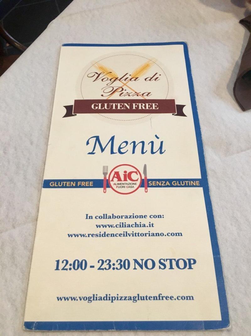 adventures of a gluten free globetrekker Gluten free Rome Voglia di Pizza