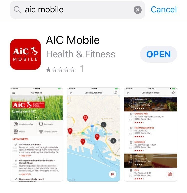 adventures of a gluten free globetrekker Gluten Free Travel Italy: What you need to know about changes to the AIC app Gluten Free Italy  Gluten free Italy