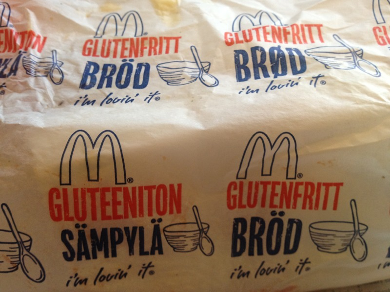 adventures of a gluten free globetrekker Sweden: Gluten Free McDonalds Gluten Free Travel International Sweden