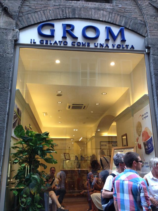 adventures of a gluten free globetrekker Grom: Gluten Free Ice Cream, Italy Gluten Free Italy Italy Tuscany