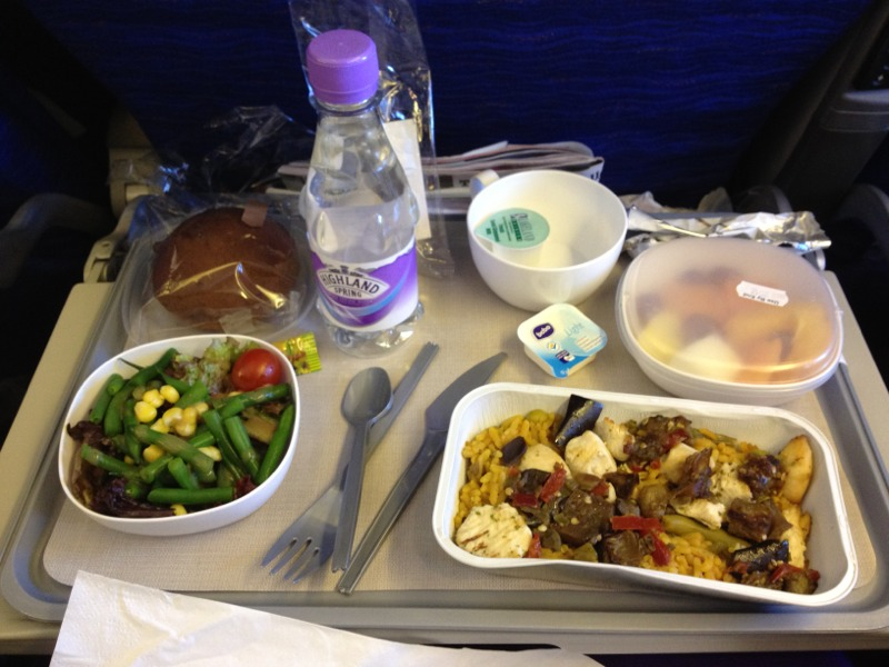 Gluten Free Meals on British Airways / American Airlines