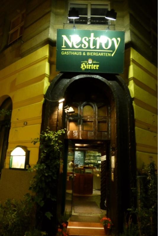{Guest Post} Gluten Free Vienna, Austria: Nestroy Gasthaus & Biergarten