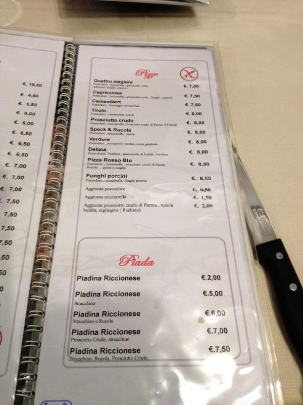 Gluten Free Bologna: Pizzeria Ristorante Pepperoni