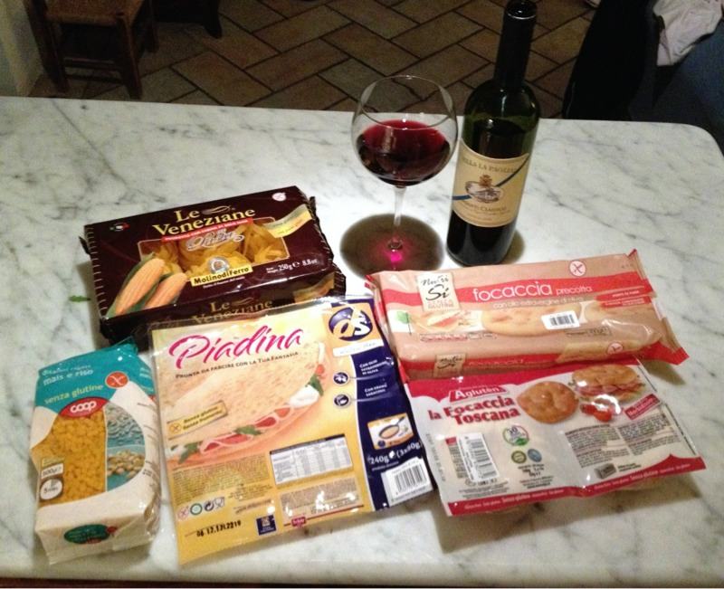 (More) Gluten Free Shopping in Italy
