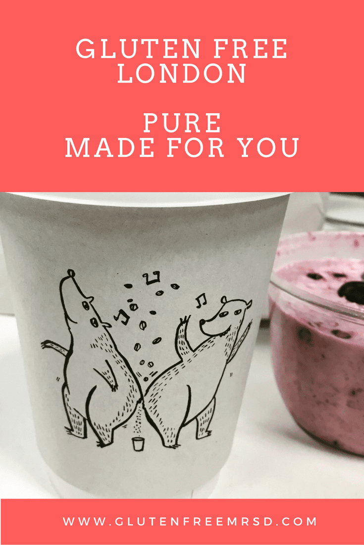 Gluten Free London: Pure Made for you