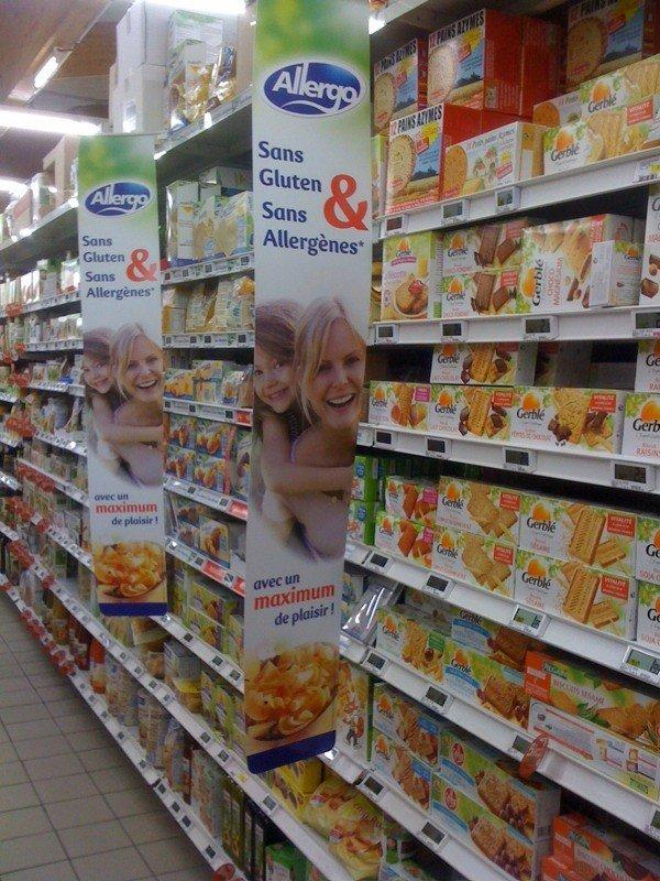 adventures of a gluten free globetrekker France Intermarche Gluten Free Aisle