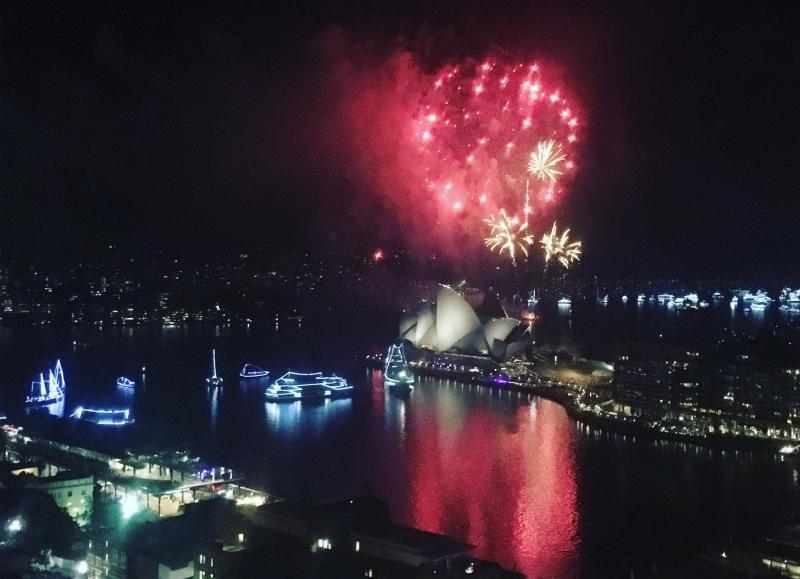 Sydney New Year fireworks
