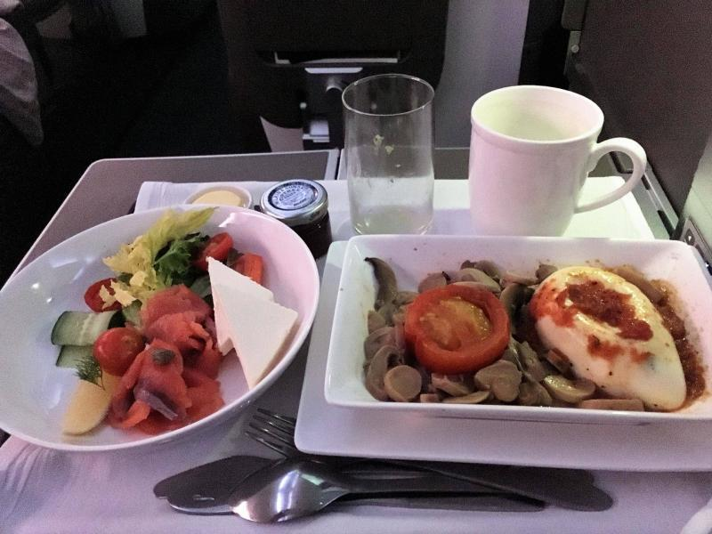 adventures of a gluten free globetrekker gluten free in flight meal British Airways Club World