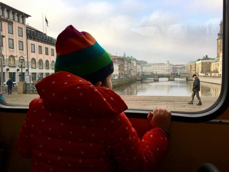 adventures of a gluten free globetrekker Tram in Gothenburg