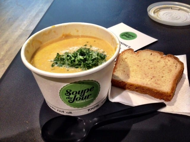 adventures of a gluten free globetrekker Proper Soup Christmas Sweetcorn