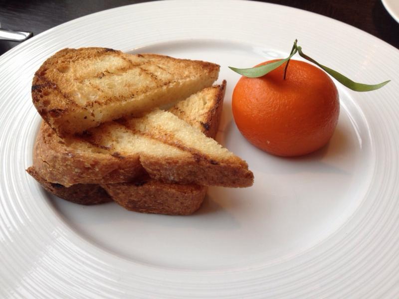 adventures of a gluten free globetrekker Meat Fruit at Dinner