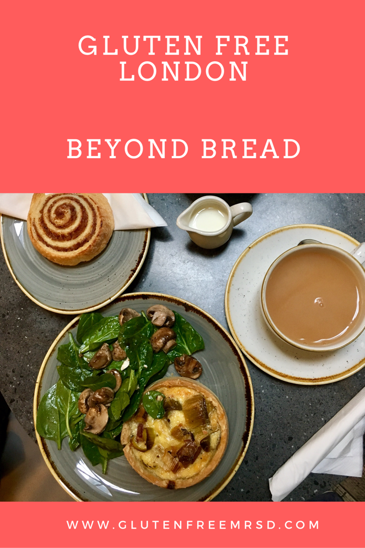Beyond Bread London gluten free Restaurant