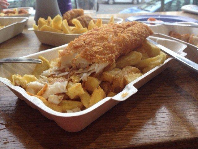 adventures of a gluten free globetrekker Gluten free fish & chips