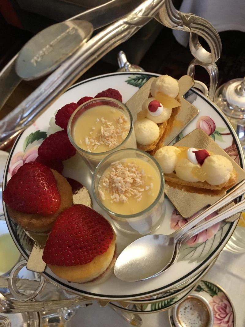 adventures of a gluten free globetrekker Gluten free afternoon tea Brown's Hotel