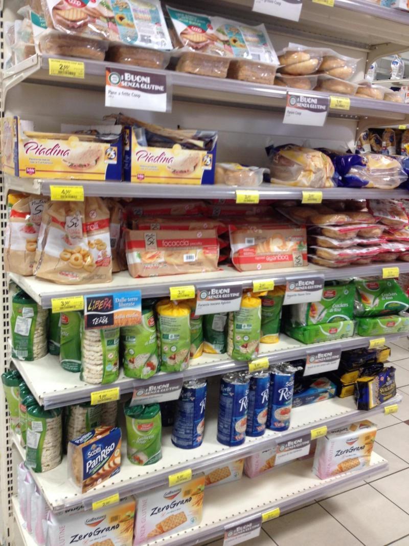 adventures of a gluten free globetrekker gluten free supermarket Italy