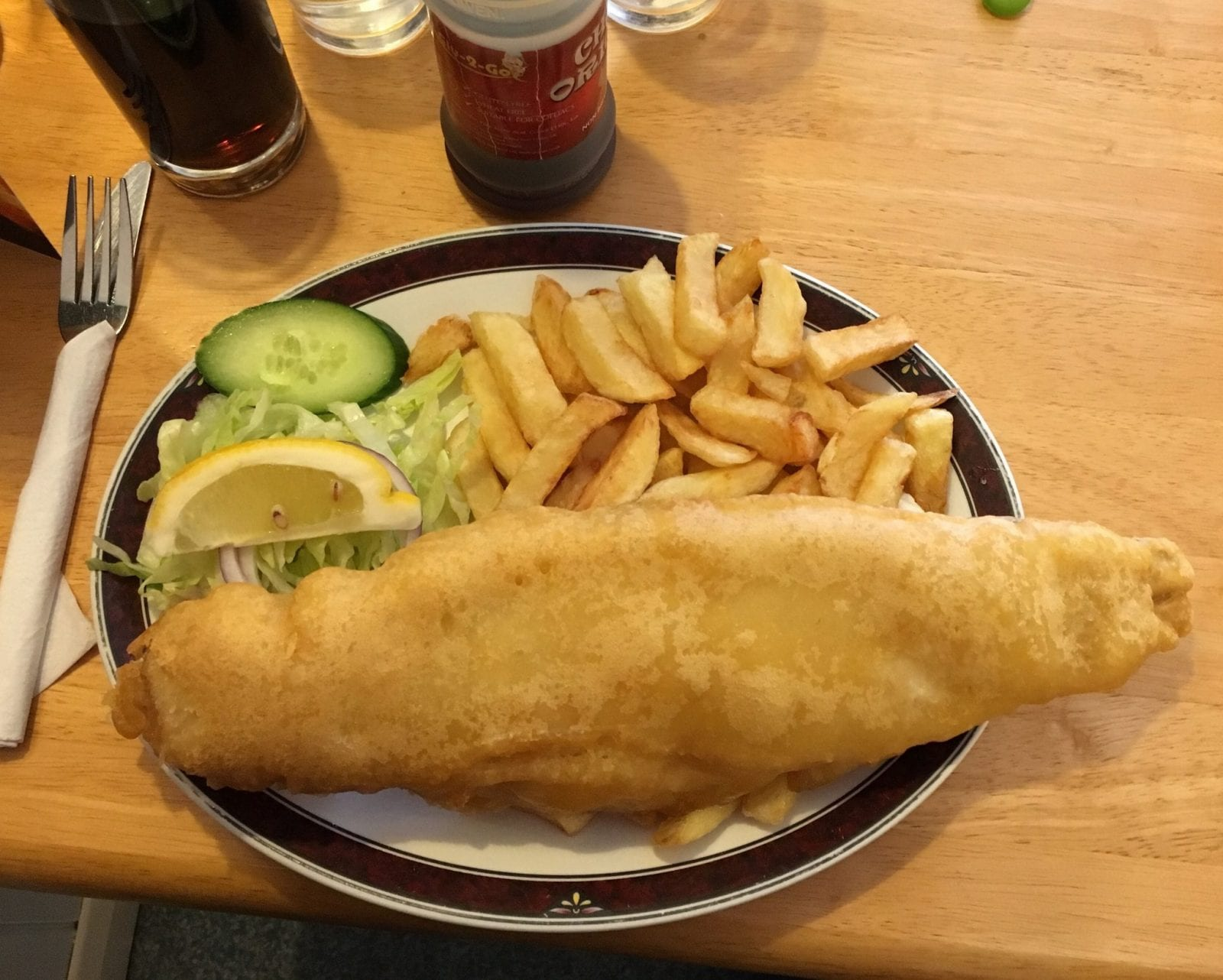 gluten free fish and chips dorset