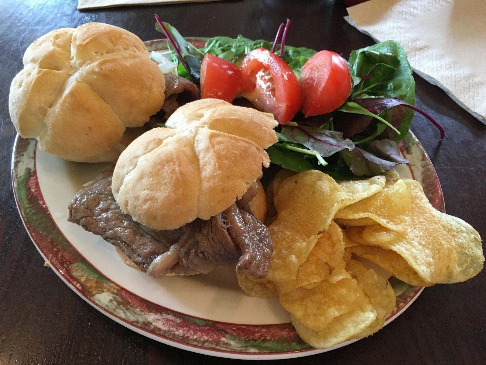 Gluten Free Steak Baguette