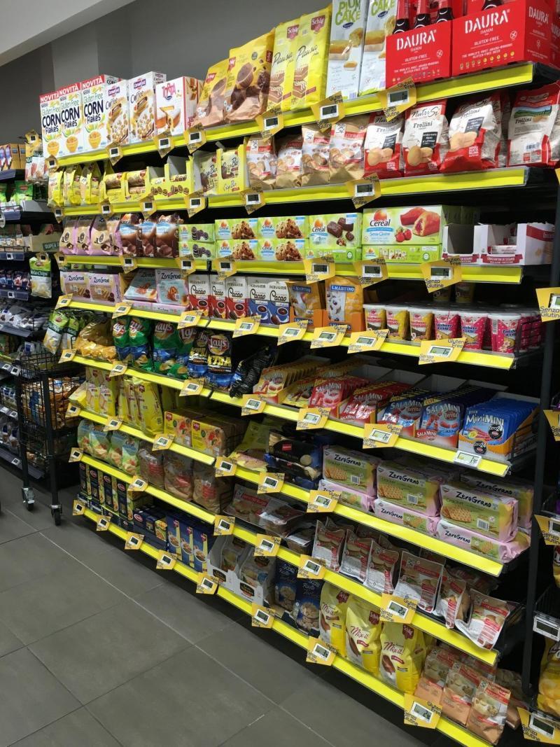 gluten free supermarket Italy