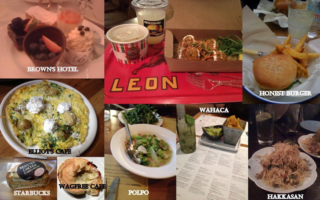 London Collage V2 1024x640 A Gluten Free Guide To London: Eating Out