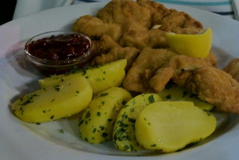 adventures of a gluten free globetrekker Nestroy Schnitzel