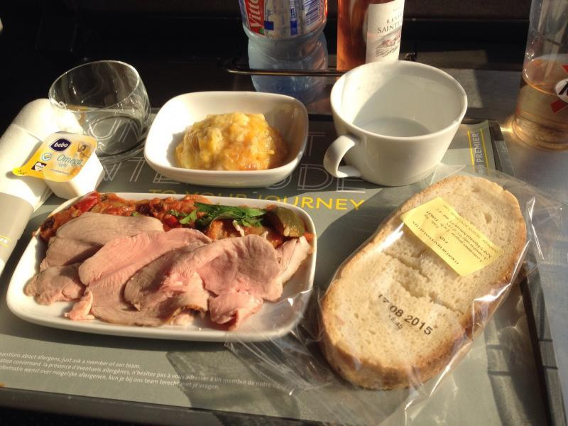 adventures of a gluten free globetrekker eurostar dinner
