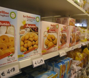 IMG 6628 300x264 Gluten Free Shopping Italy: Dedicated Gluten Free Shop