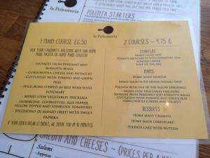 adventures of a gluten free globetrekker Gluten Free at La Polenteria, London London