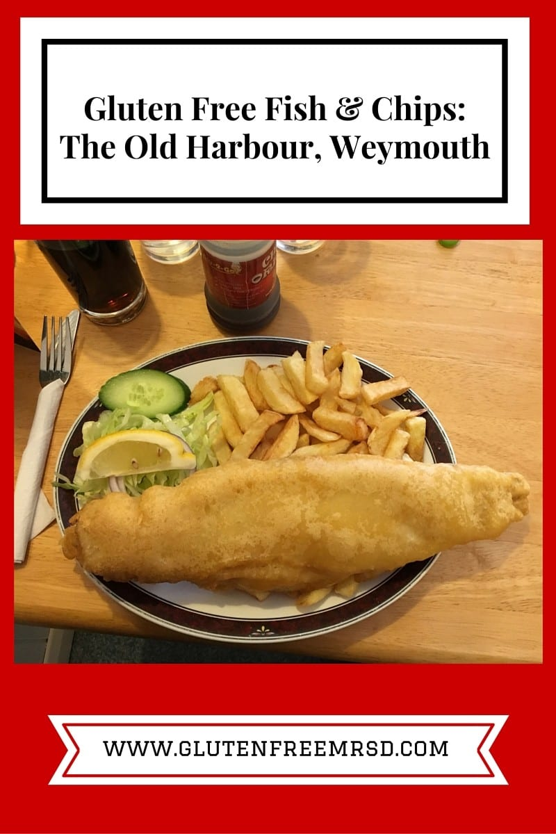 Gluten free fish and chips at the old harbour weymouth for Gluten free fish and chips